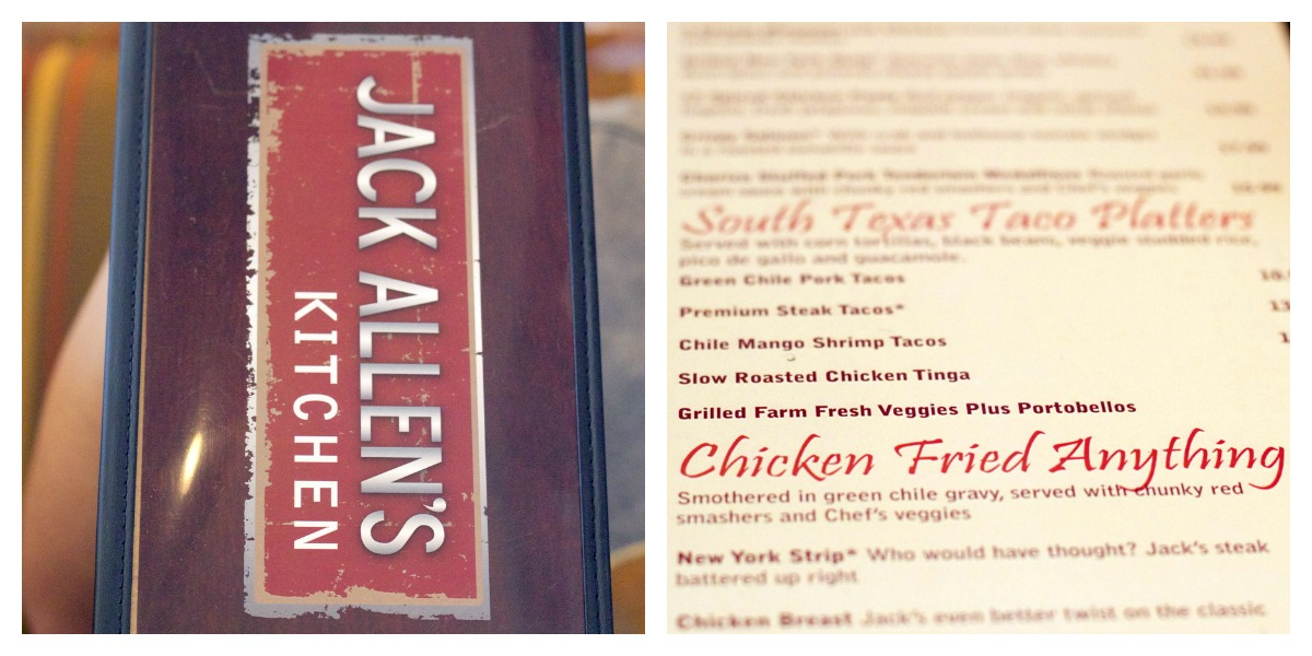 i knew exactly what i wanted to order but i couldnt help but peruse the menu gotta love a place that devotes a whole section of their menu to all things - Jack Allens Kitchen Menu
