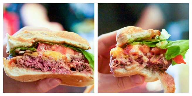 Counter Burger Collage