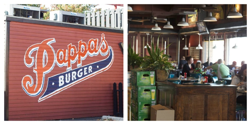 Pappas Burger Collage